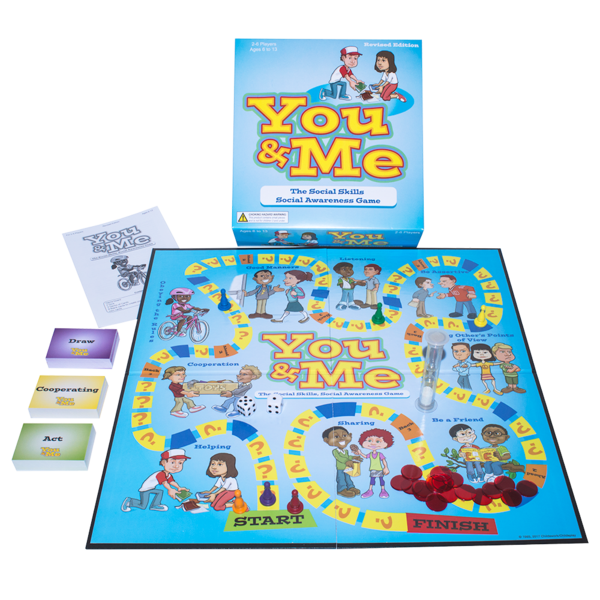 The You & Me Social Skills Board Game Revised Edition