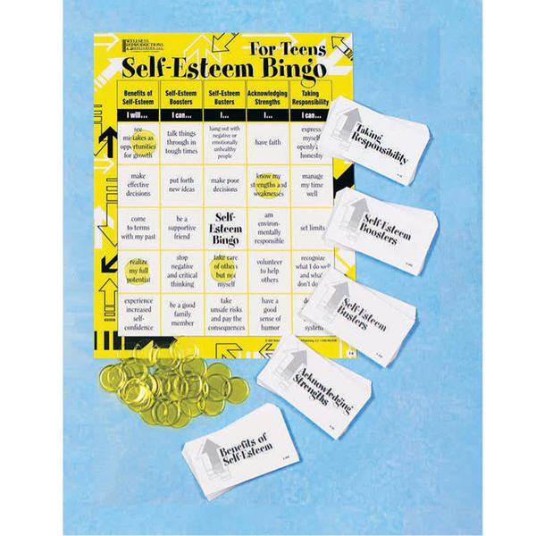 Self Esteem Bingo Game for Teens