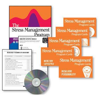 The Stress Management Book & Cards