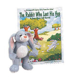 The Rabbit Who Lost His Hop Book & Plush Rabbit