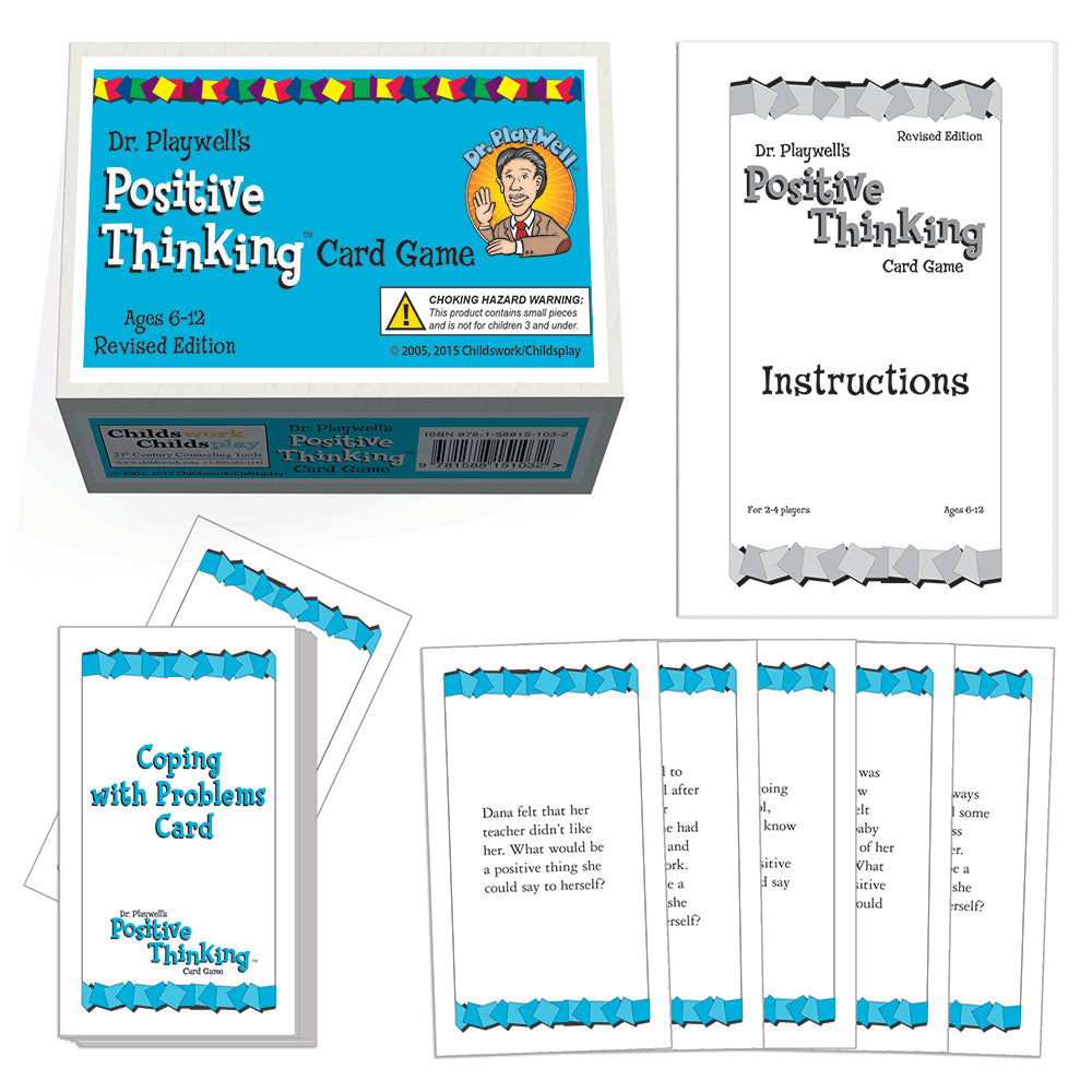 Dr. Playwell's Positive Thinking Card Game - Revised