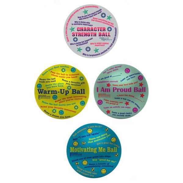Teen Counseling Balls Collection (Warm-up, Group, & Individual Counseling)