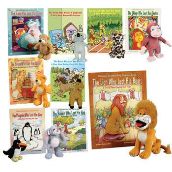 Early Prevention Series with Stuffed Animals (9 books & stuffed animals)