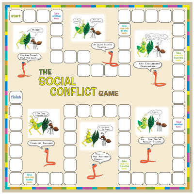 Social Conflict Game