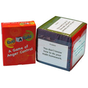 Roll A Role: An Anger Management Game Cubes & Cards