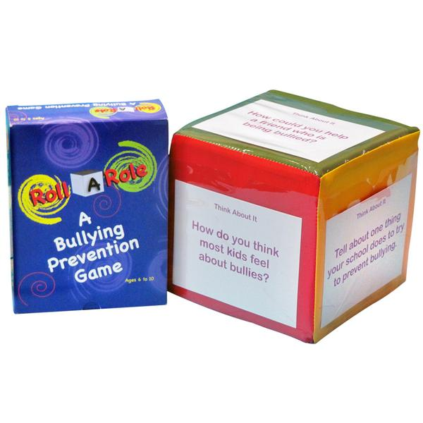 Roll A Role: A Bullying Prevention Game Cubes & Cards