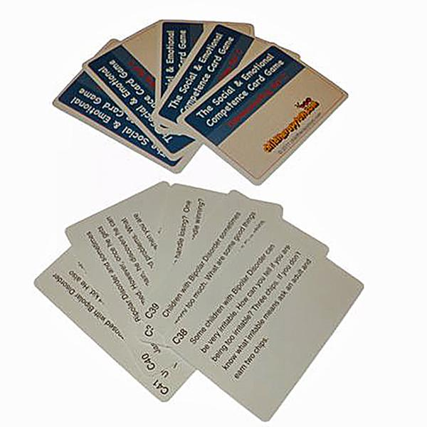 Bipolar Cards for The Social and Emotional Competence Game