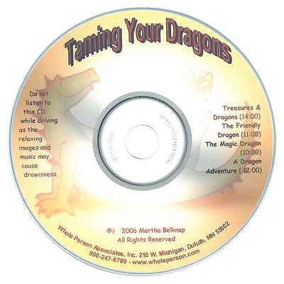 Stress Relief for Kids: Taming Your Dragons CD