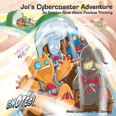 Emotes Book - Emotes Picture Book: Joi's Cyber-Coaster Adventure