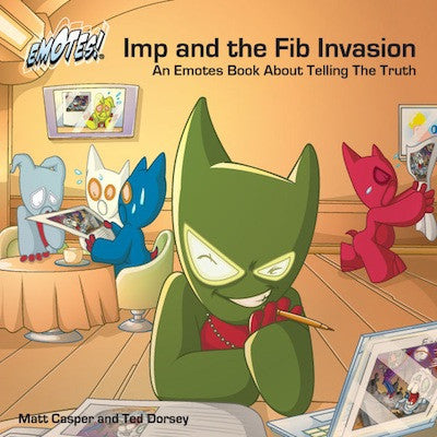 Emotes Book - Imp and the Fib Invasion