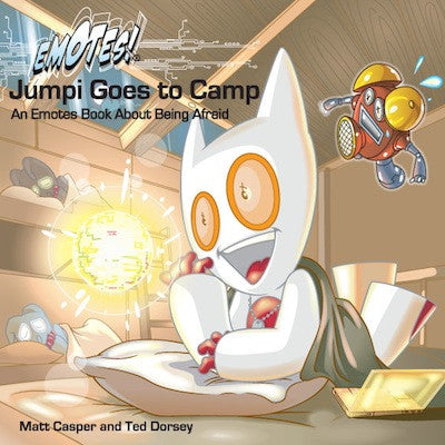 Emotes Book - Jumpi Goes to Camp