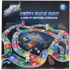 Emotes Rescue Quest Board Game
