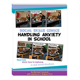 Social Skills Comics: Handling Anxiety in School