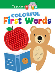 Colorful First Words Sensory Silicone Touch and Feel Board Books