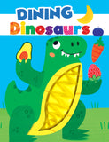 Dining Dinosaurs Sensory Silicone Touch and Feel Board Books