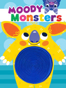 Moody Monsters Silicone Touch and Feel Board Books