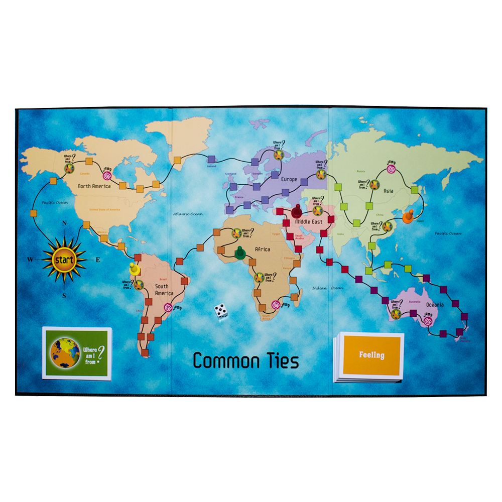 Common Ties Board Game: Living Together in a Multicultural World*