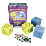 Toss and Learn Dice Games: Give Everyone a Fair Shake