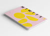 Desk Planner A3 Yellow Pink