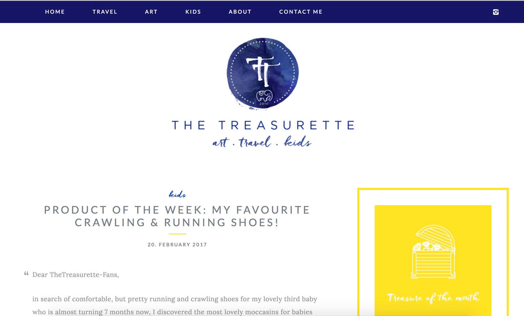 the treasurette homepage