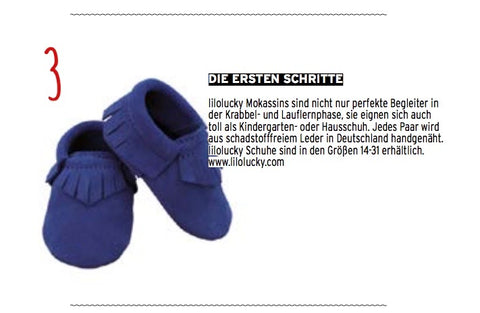 lilolucky royal blue in Hosenmatz Magazin November 2017