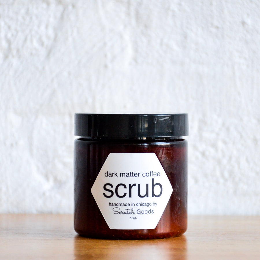 dark matter coffee scrub