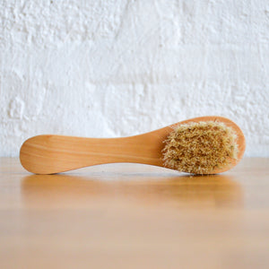 facial dry brush