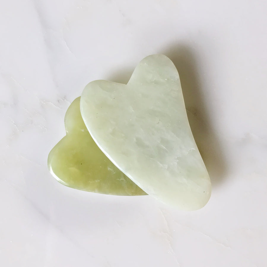 gua sha - facial massage tool