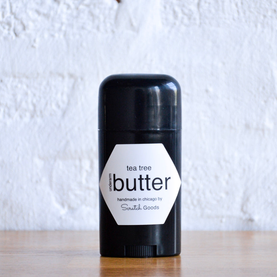 tea tree underarm butter
