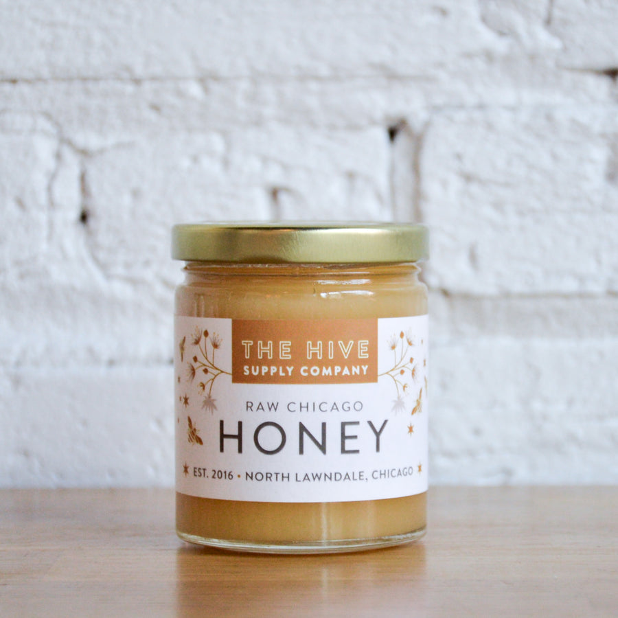 raw honey - the hive