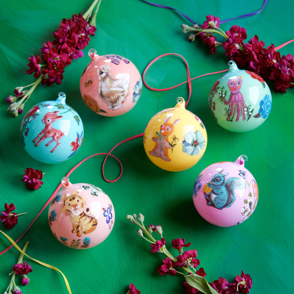 NL Ornament Ball (6 Assortment)