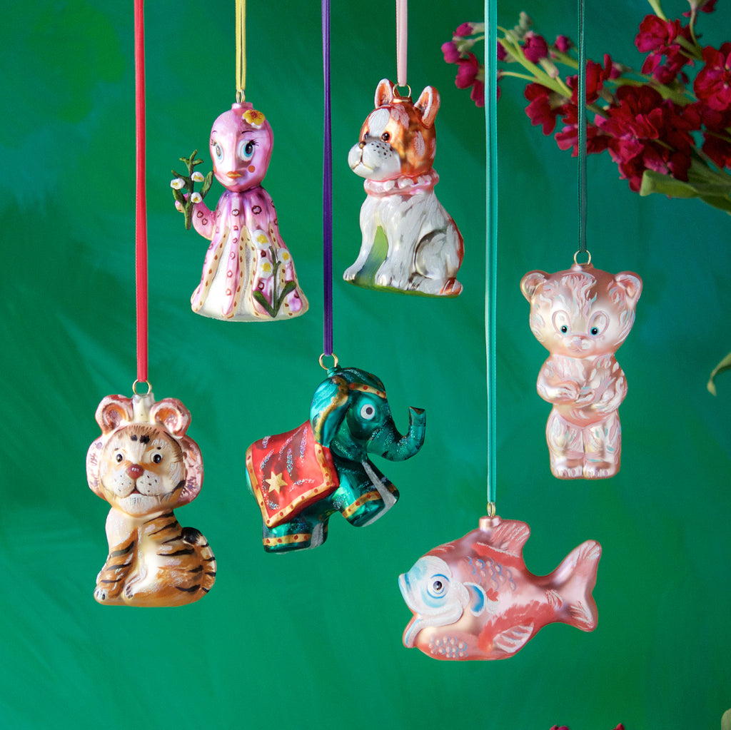 Nathalie Lété Toy Ornament (6 Assortment)