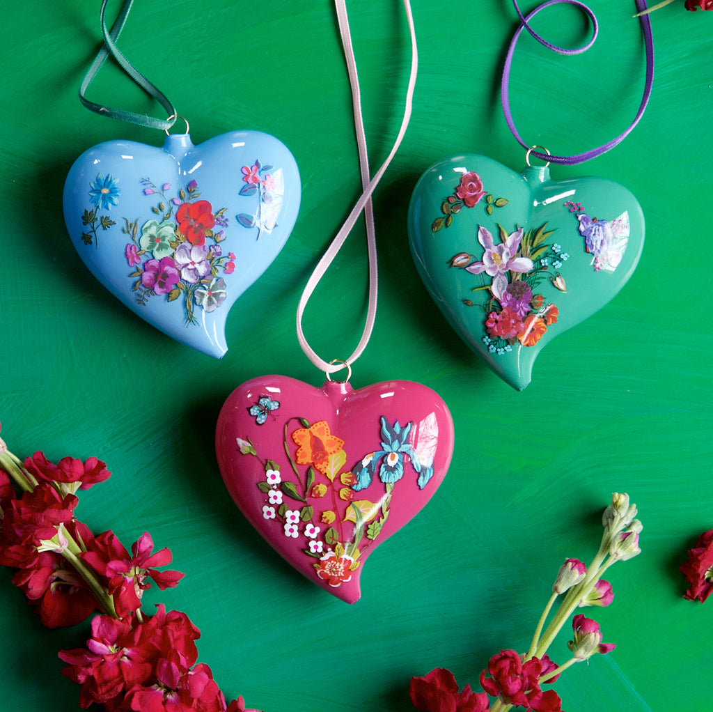 Nathalie Lété Heart Ornament (3 Assortment)