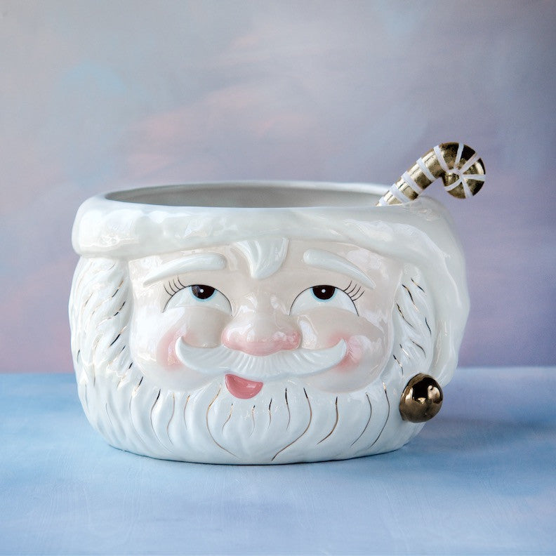 Papa Noel Punch Bowl