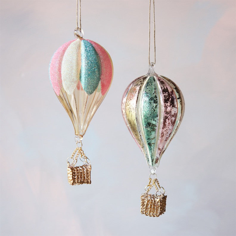Hot Air Balloon Ornament, large