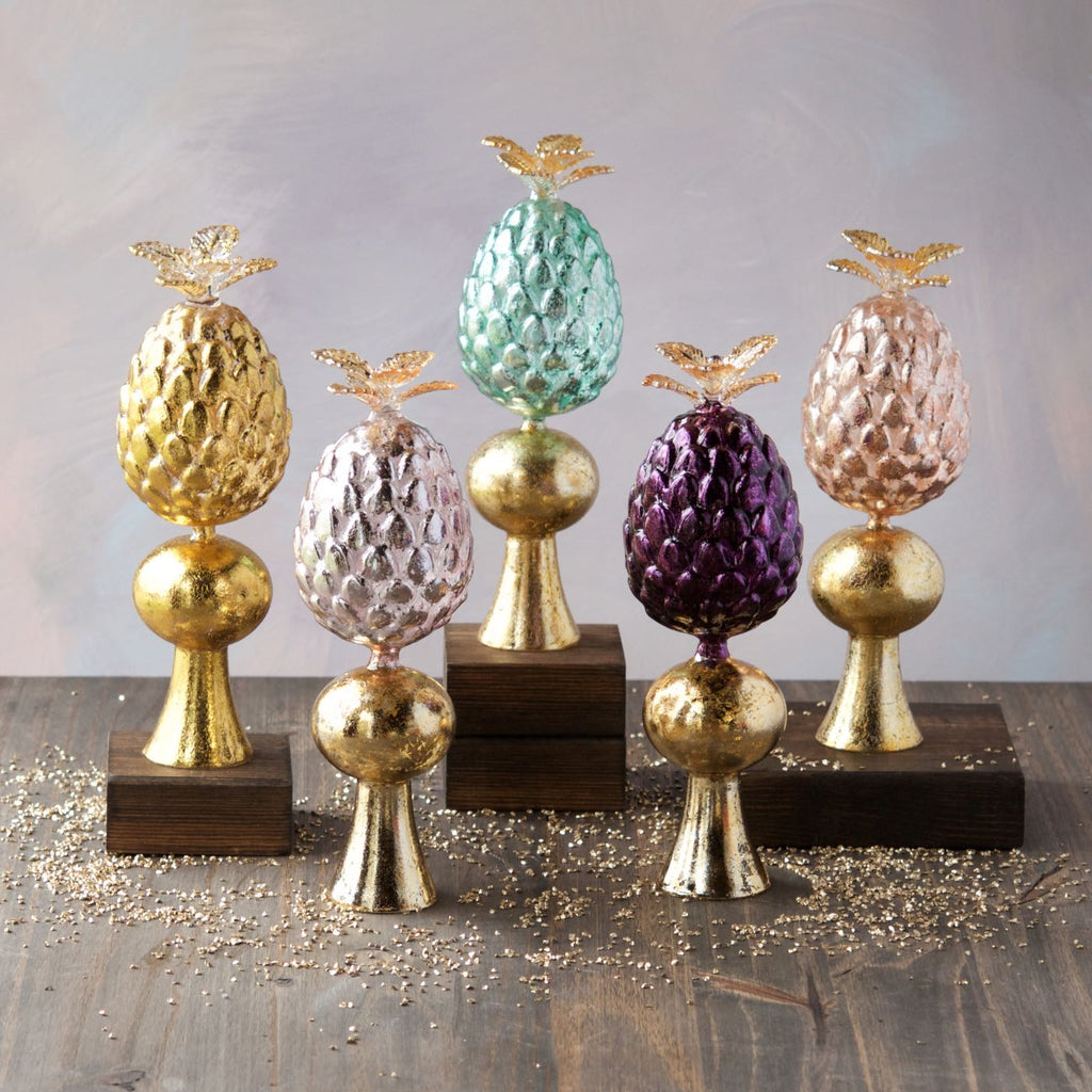 Glass Pineapple Tree Topper