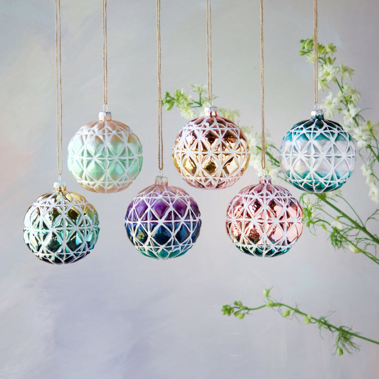 Ombre Ball Ornament