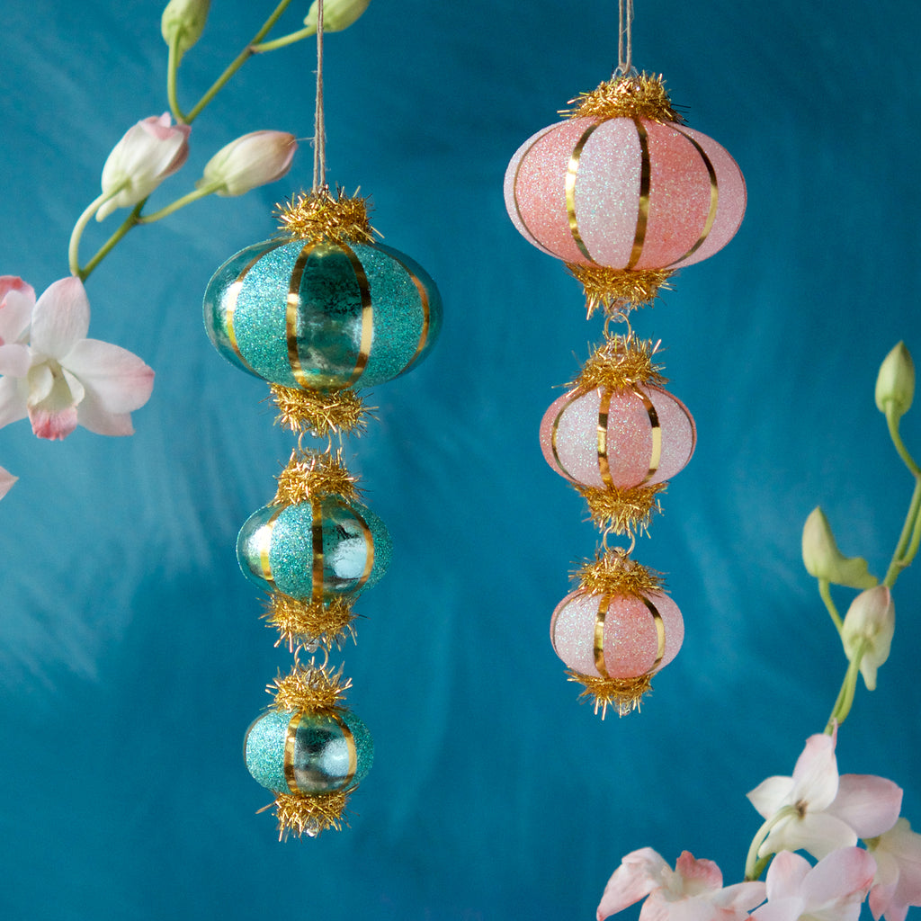 Dangling Lantern Ornament (2 Assortment)