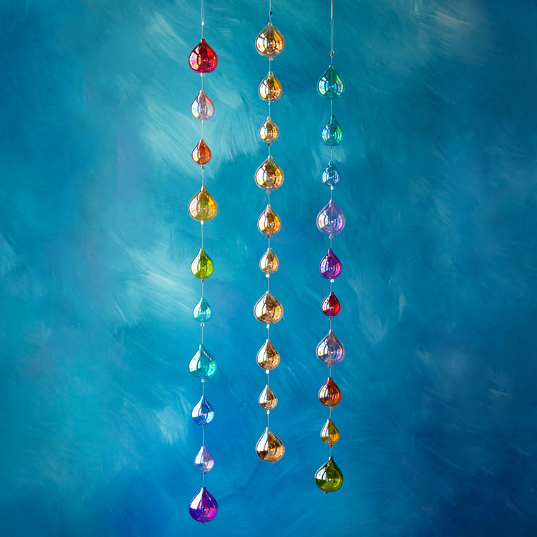 Rainbow Raindrop Garland (3 Assortment)