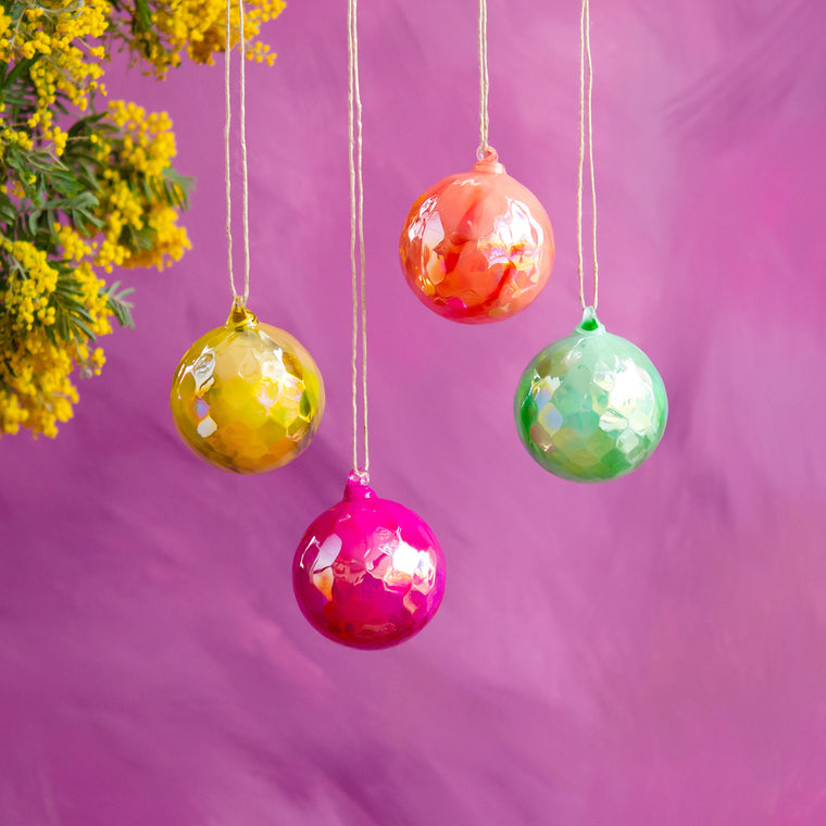 Saturated Ball Ornament