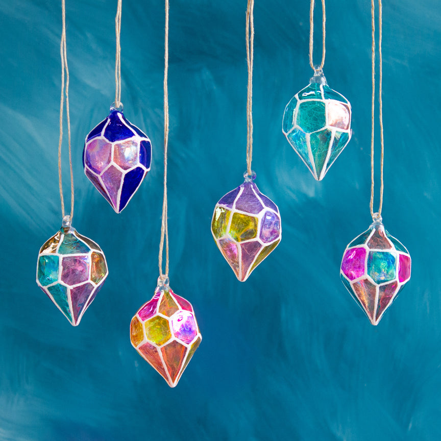 Kaleidoscope Gem Ornament