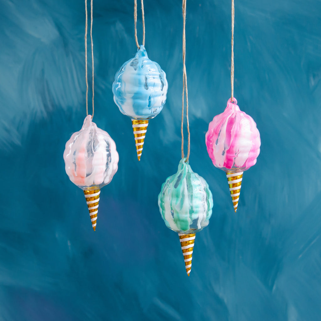 Sweet Cotton Candy Ornament