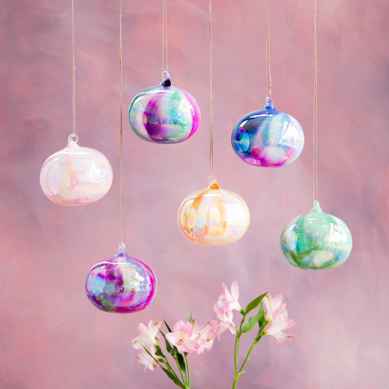 Water Color Orb Ornament