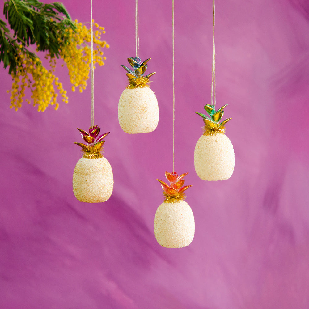 Sahara Pineapple Ornament