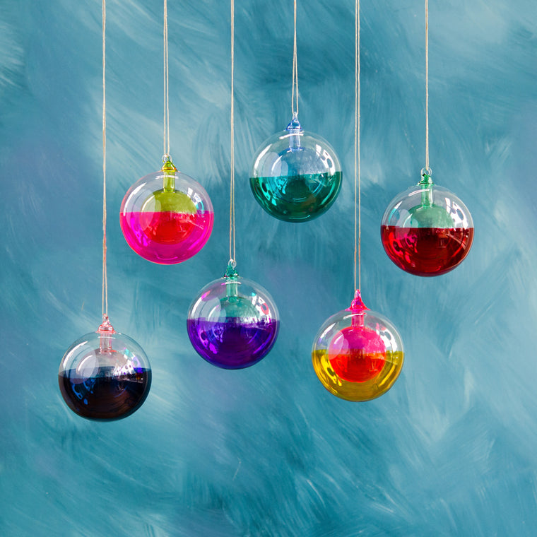 Ball in a Ball Ornament