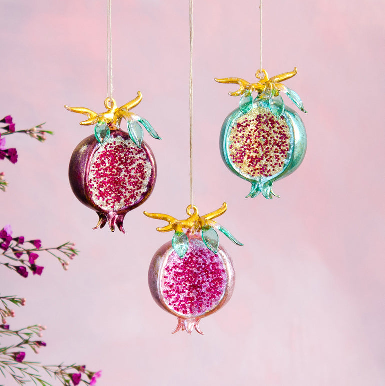 Persnickety Pomegranate Ornament