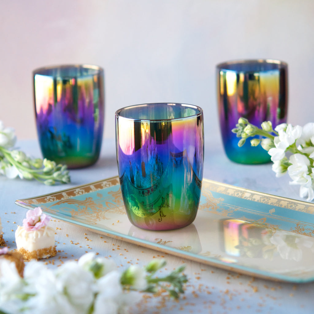 Rainbow Tumbler, Set of 4