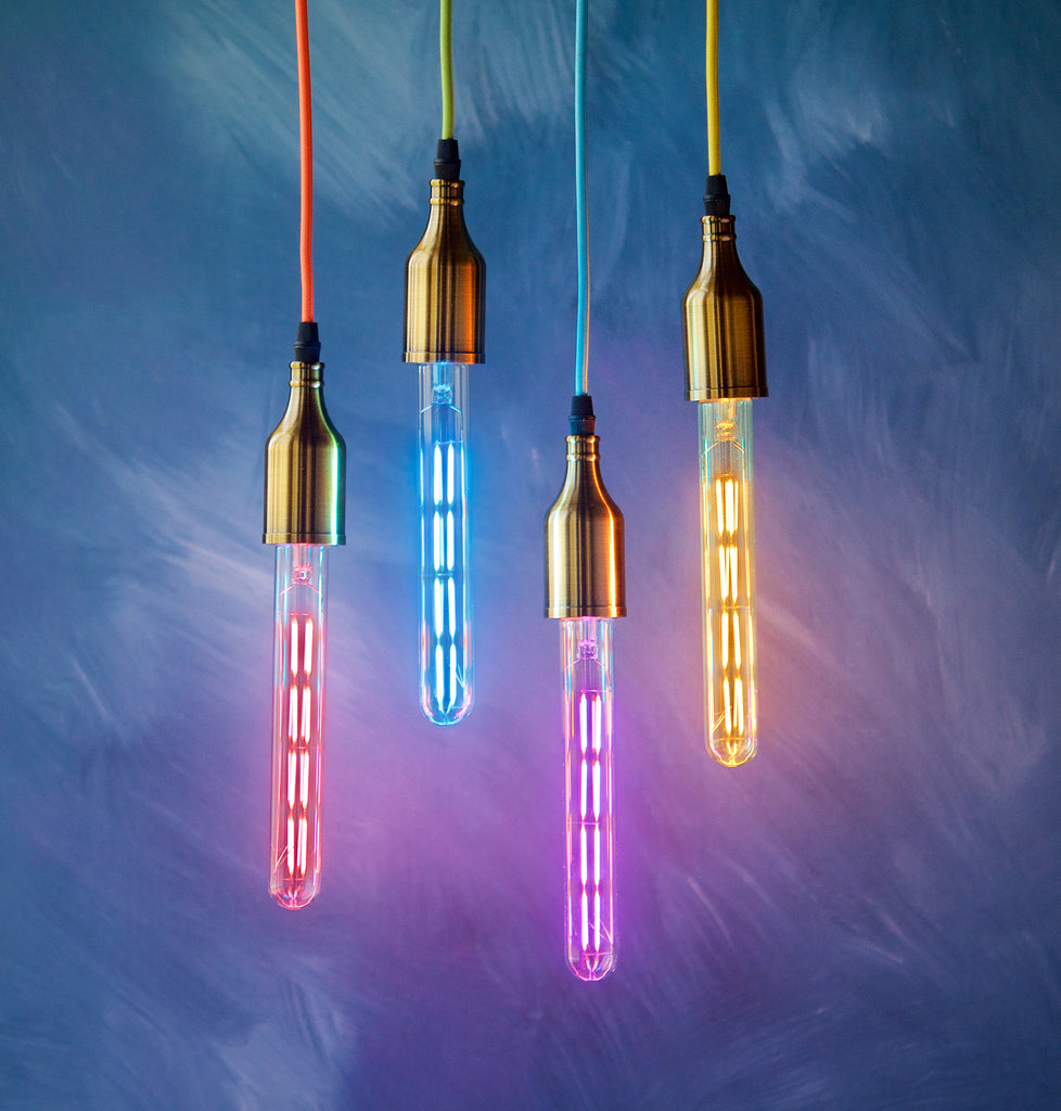 Colorful LED Filament Tube Bulb