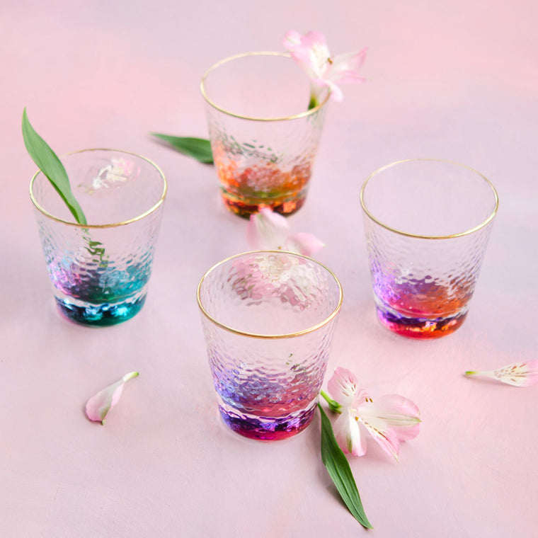 Colorful Cocktails, Set of 4
