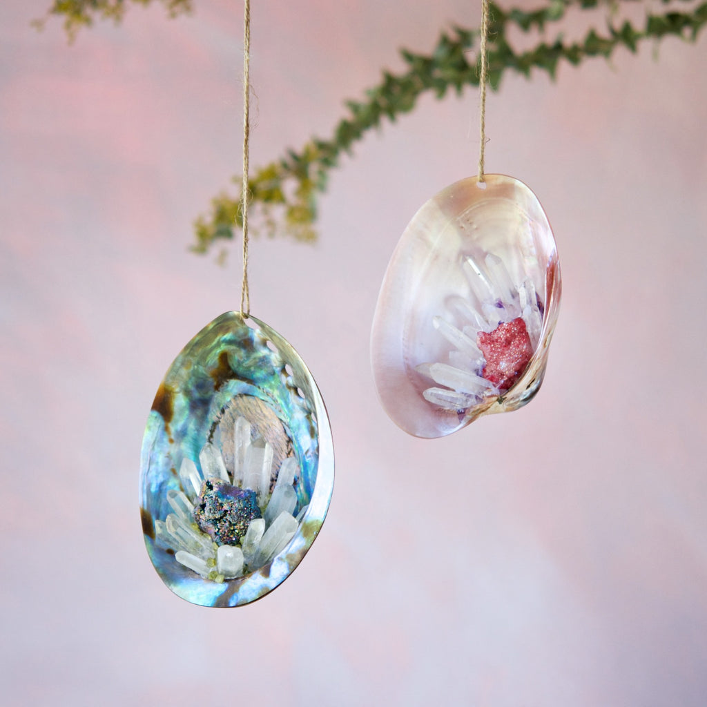 Crystal Shell Ornament